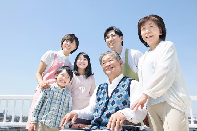 家族のためにも健康長寿