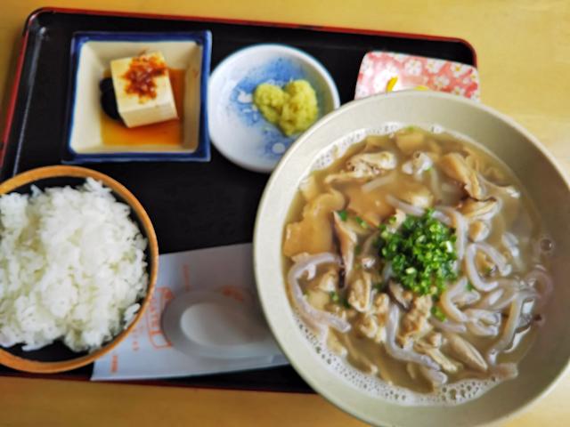 中身汁定食(島人そば)