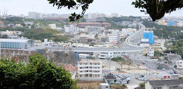 ゆいレール延伸で開発の進む浦添前田地区
