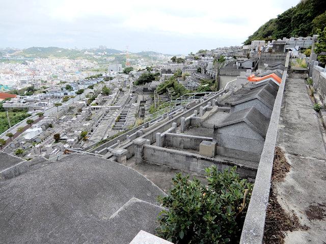 墓地として整備された前田高地