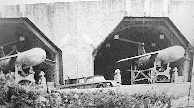 メースBを格納中の核ミサイル発射台