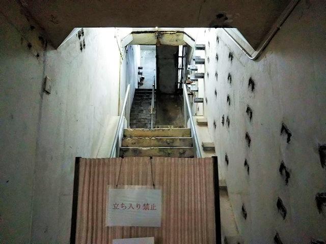 ミサイル発射台へと続く地下核施設の地下壕